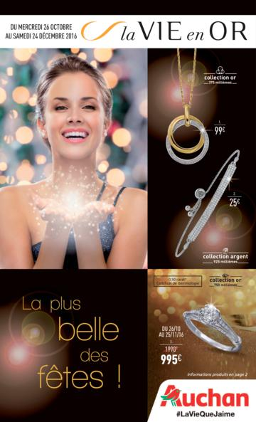 Catalogue Auchan France Noël 2016