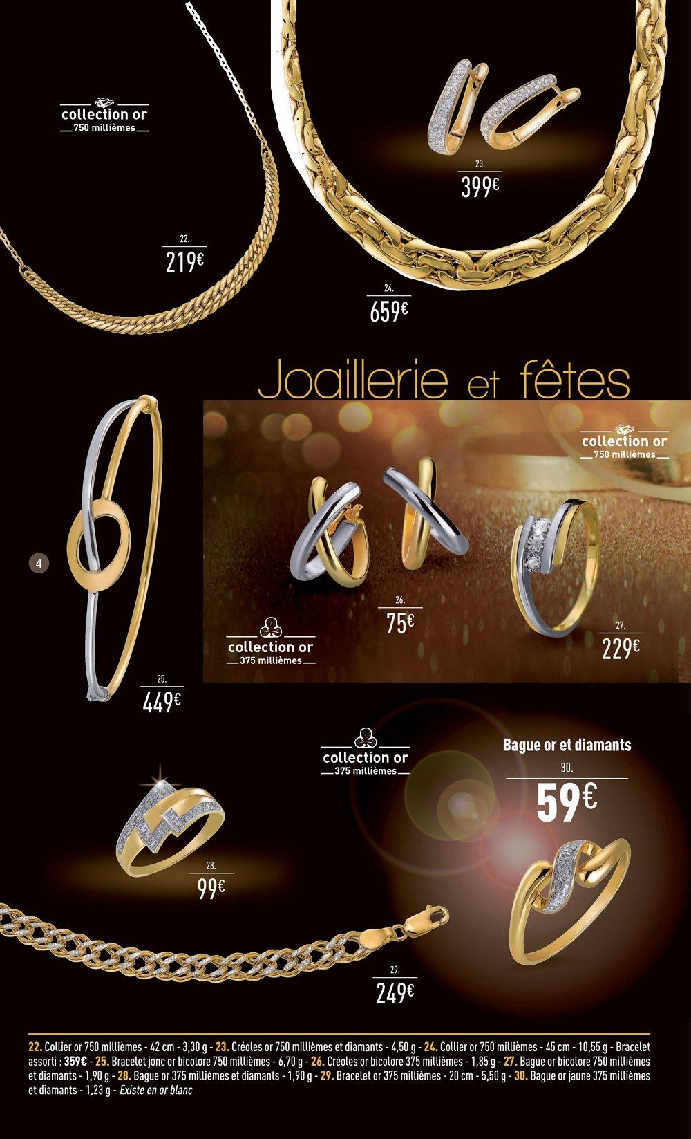 Catalogue auchan bijouterie