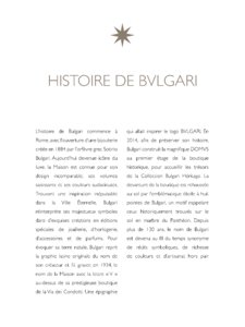Catalogue Bulgari Joaillerie 2016 page 5
