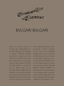 Catalogue Bulgari Joaillerie 2016 page 103