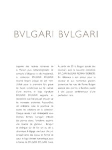 Catalogue Bulgari Joaillerie 2017 page 129