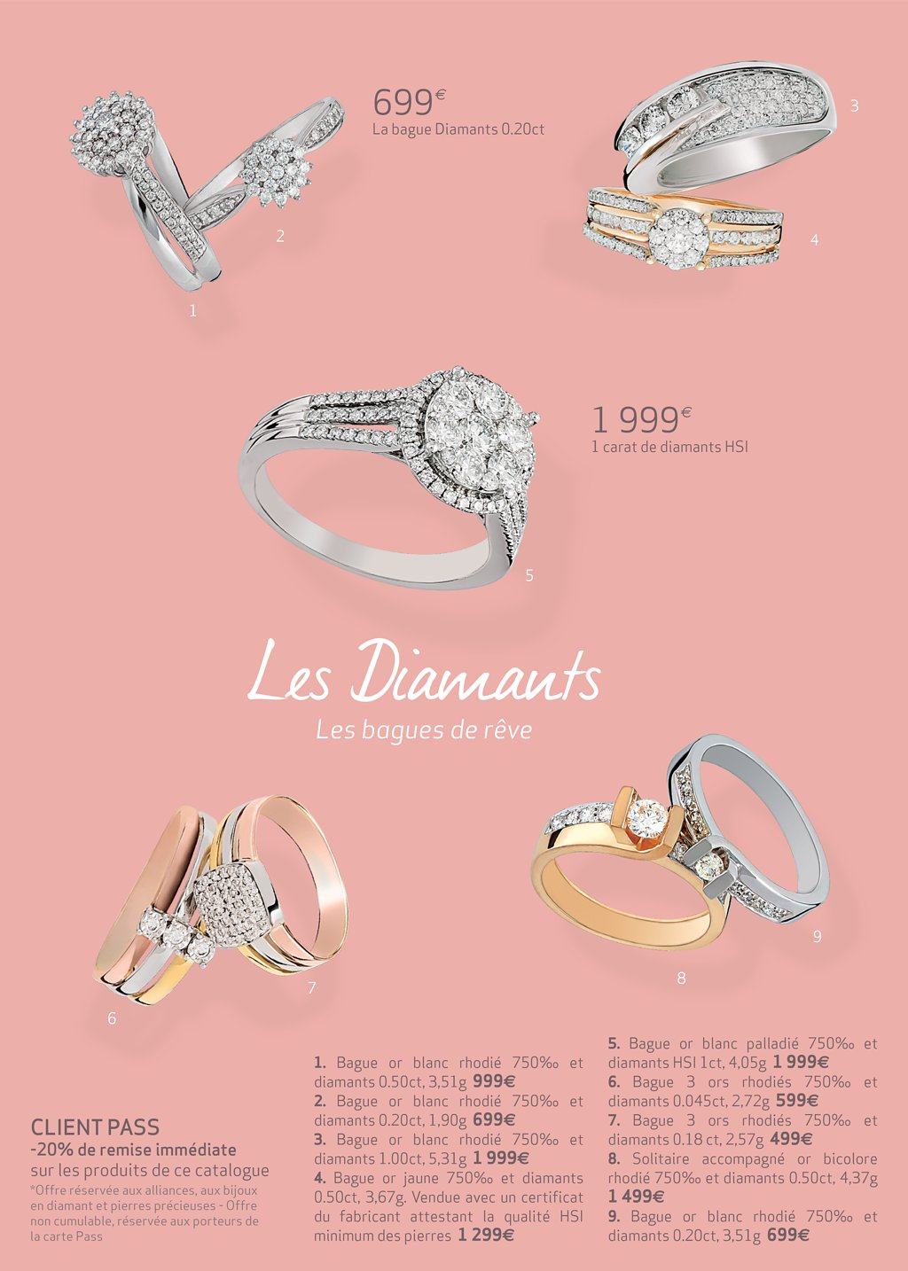 bague solitaire diamant carrefour