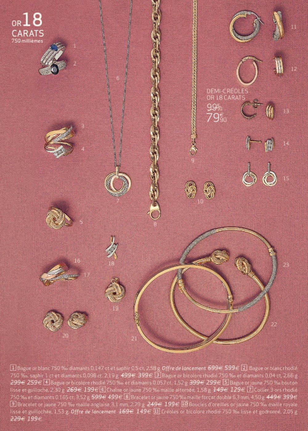 carrefour bijoux soldes