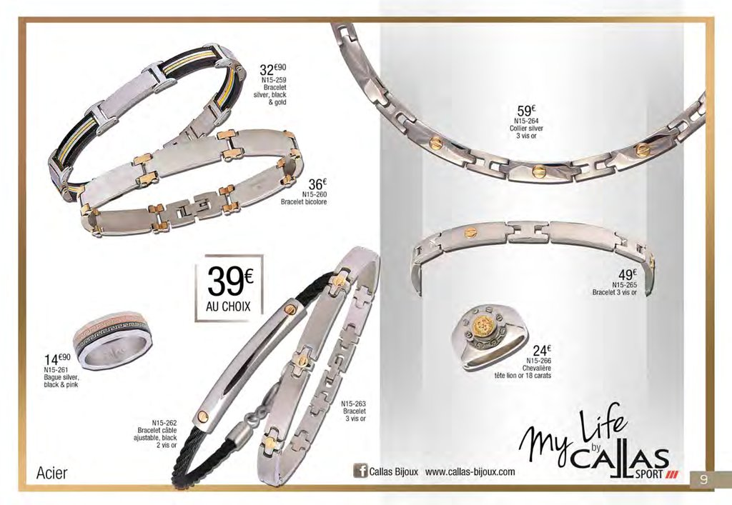catalogue eurogold martinique no l 2015 catalogue de bijoux. Black Bedroom Furniture Sets. Home Design Ideas