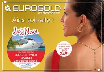 Catalogue Eurogold Martinique Noël 2016