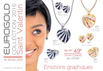 Catalogue Eurogold Martinique Saint Valentin 2015