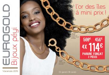 Catalogue Eurogold Martinique Vacances 2015