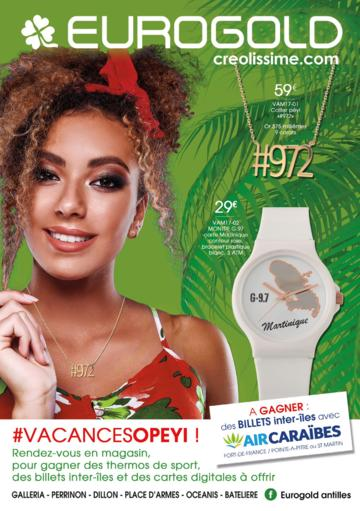 Catalogue Eurogold Martinique Vacances 2017