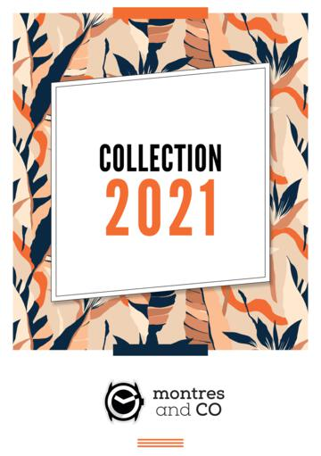 Catalogue Montres And Co Collection 2021